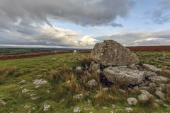 Arthur`s Stone - Wales royalty free stock photo