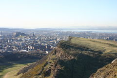 Arthurs Seat to the Ochil Hills Stock Images