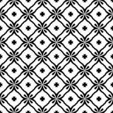 Arti in bianco e nero di vettore del modello senza cuciture del fondo royalty illustrazione gratis