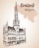 Arti del DES di Mont - Bruxelles - Belgio Bruxelles - Belgio illustrazione vettoriale