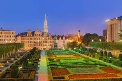 Arti del DES di Monts a Bruxelles Belgio Immagine Stock Libera da Diritti