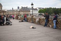 Arti del DES di Pont a Parigi Fotografia Stock Libera da Diritti