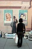 Arti della parete Fotografia Stock