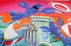 Arti della parete Immagine Stock Libera da Diritti