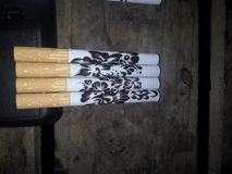 arti di fumo Fotografia Stock