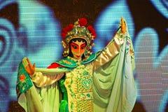 Arti di opera di Sichuan in Cina: Cambi il fronte Fotografie Stock