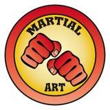 Arti marziali di simbolo Fotografia Stock