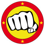 Arti marziali di simbolo Immagini Stock Libere da Diritti