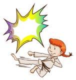 Arti marziali esperte royalty illustrazione gratis