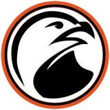 Arti marziali falco, aquila di simbolo. Immagine Stock