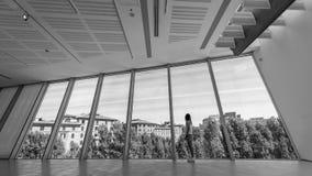 Arti MAXXI Museo Nazionale delle del ΧΧΙ Secolo - γοητεία στοκ φωτογραφίες
