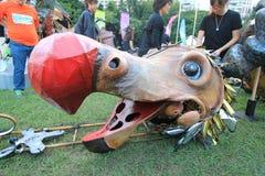 Arti nell'evento di Mardi Gras del parco in Hong Kong Immagine Stock Libera da Diritti