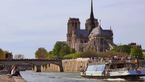 Arti-Notre Dame Cathedral, Parigi del DES di Pont archivi video
