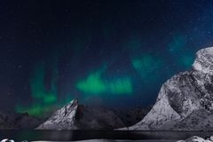 Artic night Stock Photography