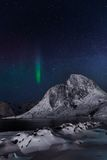 Artic night Royalty Free Stock Image