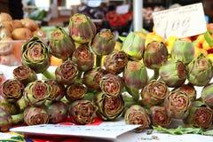 artichoches αγορά Στοκ Εικόνα