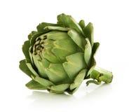 Artichoke. Fresh artichoke on white background Stock Photography