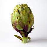 Artichoke. Green artichoke on white background Royalty Free Stock Photography
