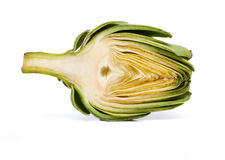 Artichoke, Baby, Sliced Stock Photo