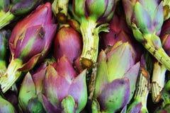 Artichoke, close up, background stock photo