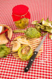 Artichoke conserve Royalty Free Stock Photography