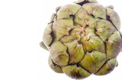 Artichoke with copyspace Royalty Free Stock Photo