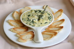 Artichoke Dip Royalty Free Stock Photo