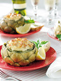 Artichoke dish Royalty Free Stock Photography
