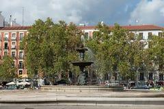 Artichoke fountain Stock Images