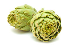 Artichoke isolated Stock Photos
