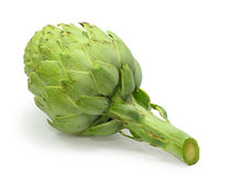 Artichoke isolated on white Royalty Free Stock Images