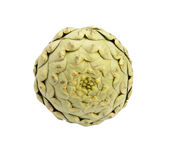 Artichoke. Isolated on a white background Royalty Free Stock Image