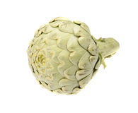 Artichoke isolated. On a white background Royalty Free Stock Image