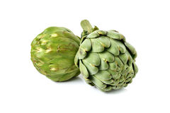 Artichoke isolated on white Royalty Free Stock Photos