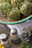 artichoke royalty free stock photos