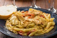 Artichoke Pasta Stock Photo