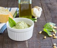 Artichoke Pesto Royalty Free Stock Image