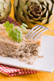 Artichoke Pie. Stock Image
