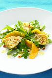 Artichoke salad Stock Photo
