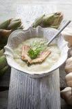 Artichoke soup Royalty Free Stock Image