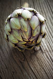 Artichoke with Stem Royalty Free Stock Photos