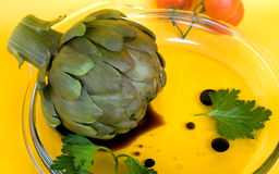 Artichoke In Vinaigrette stock images