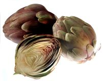 Artichokes Stock Photography