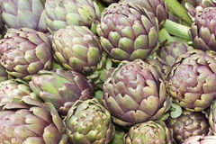 Artichokes. Fresh italian vegetables, ingredients for mediterranean diet Stock Photography