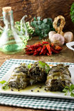 Artichokes with garlic and parsley Stock Images