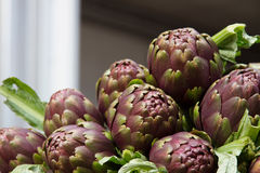 Artichokes at market Stock Photos