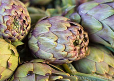 Artichokes on a market Stock Photography