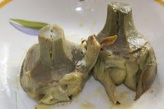 Artichokes at the roman Royalty Free Stock Image
