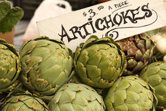 Artichokes Royalty Free Stock Photos