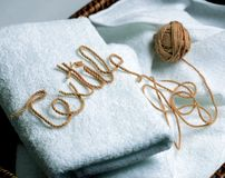 Daily Article. Textile royalty free stock photography